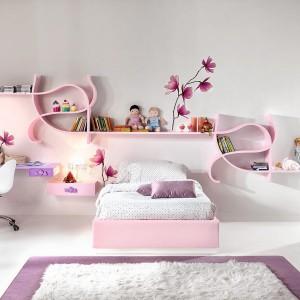 12 pomysłów na pokój dziewczynki