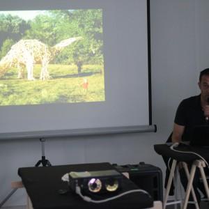 Warsztaty obejmowały prezentacje z użyciem różnych mediów, w tym: filmu, grafiki, sztuki użytkowej i fotografii. Fot. Poznań Design Days.