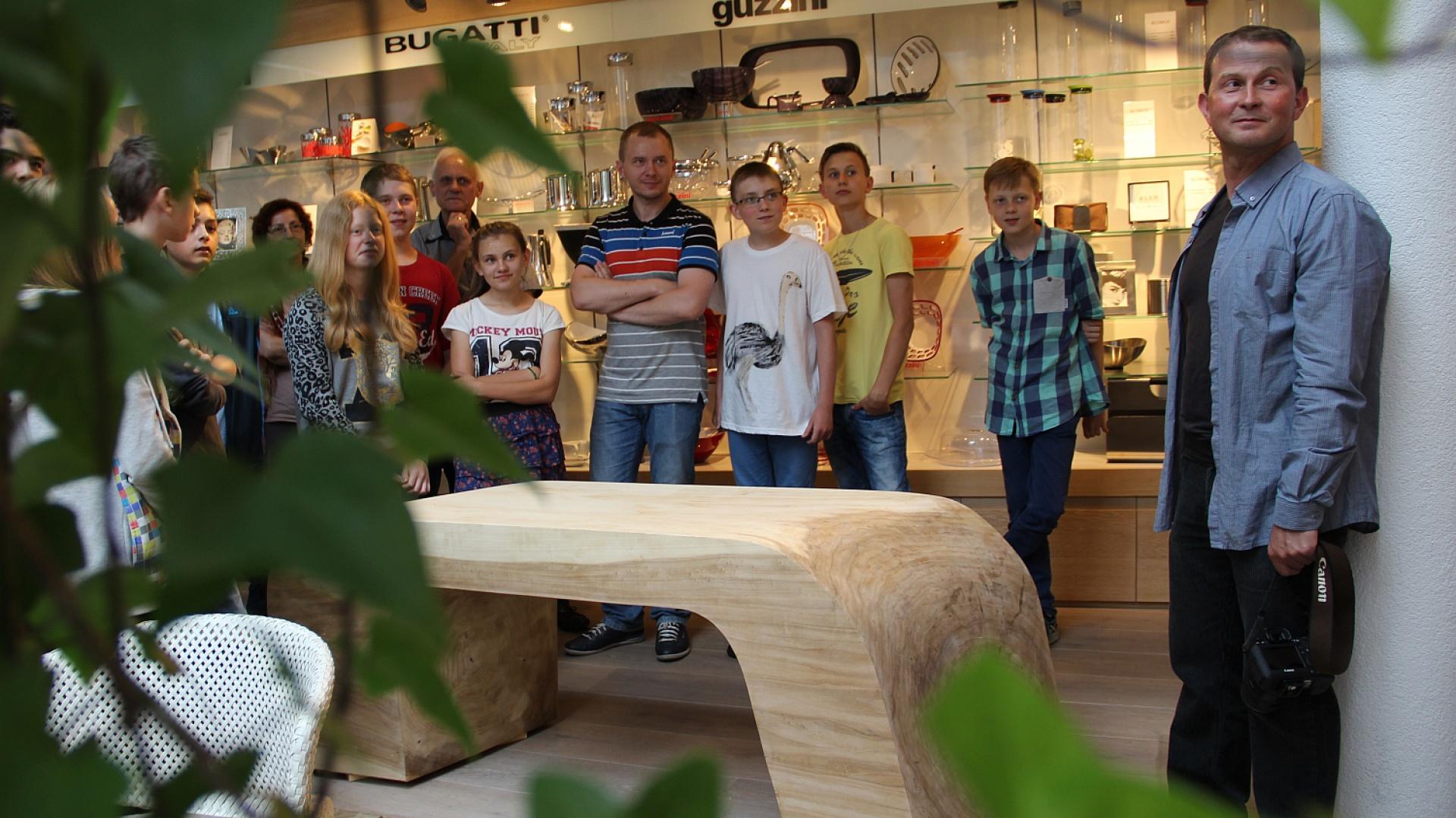 Plener rzeźbiarski - jedna z wystaw Śląskiego Czerwca Projektowego. Fot. Organizator wydarzenia