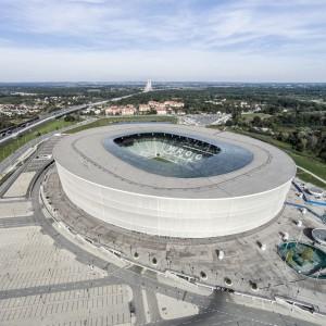 Stadion Wrocław w lotu ptaka. Fot. Stadion Wrocław.