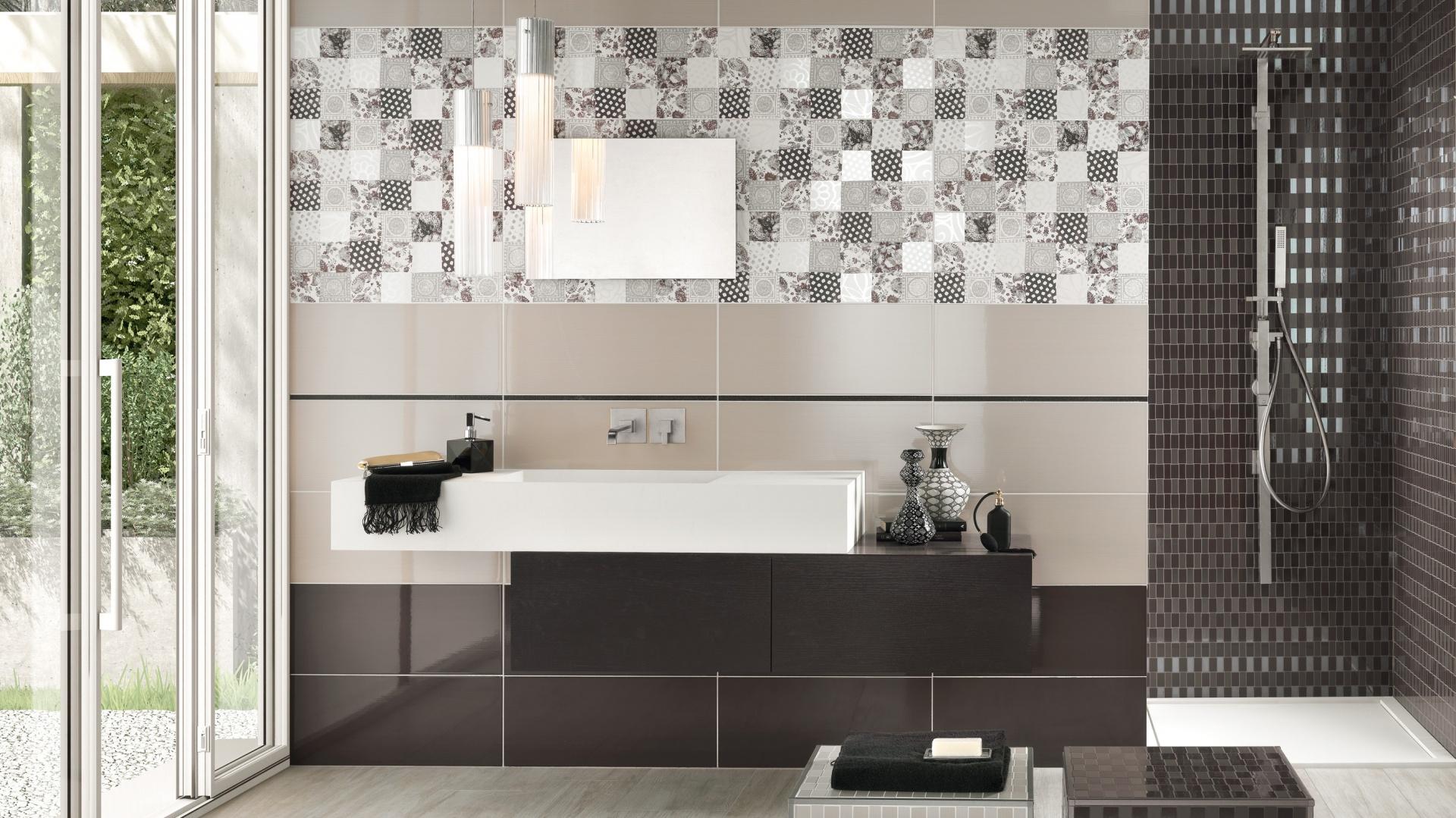 Płytki z kolekcji Class dostępne w ofercie firmy NovaBell. Każdej łazience nadadzą indywidualny charakter. Fot. NovaBell