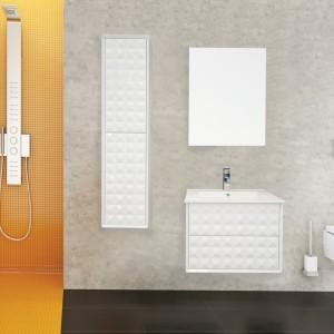 Kolekcja mebli łazienkowych Zirco idealne wpisuje się w aktualne trendy projektowania przestrzeni łazienkowych. Fot. Defra.