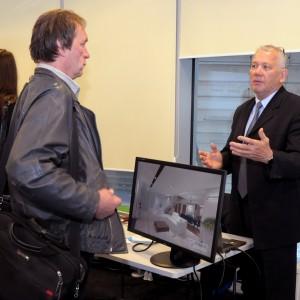 Stoisko CAD Projekt: Ireneusz Biernacki odpowiada na pytania architektów i projektantów wnętrz.