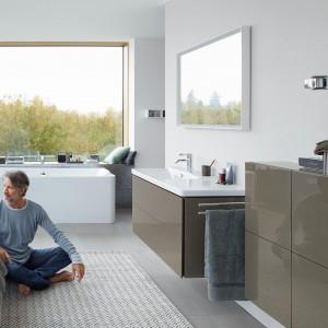 Ceramika łazienkowa z kolekcji P3 Comforts dedykowana osobom ceniącym funkcjonalność i nowoczesne formy. Fot. Duravit.