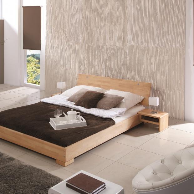 12 pomysłów na modną sypialnię w drewnie