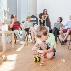 Akademia Technika to świetna zabawa dla najmłodszych. Fot. Gdynia Design Days.