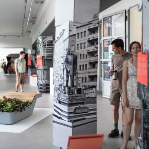 """Wystawa główna """"Sieci"""". Fot. Gdynia Design Days."""
