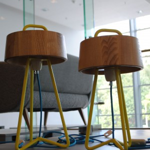 Designerska lampa Lightbuoy projektu Pawła Jasiewicza można było i obejrzeć podczas tegorocznej edycji festiwalu. Fot. Piotr Sawczuk.