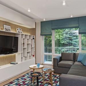 Mieszkanie w bloku: jasne i przytulne