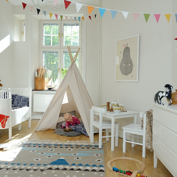 Jasny pokój dziecka. Tak możesz go urządzić