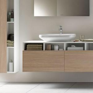 Seria mebli łazienkowych Durastyle marki Duravit to połączenie nowoczesnego wzornictwa i funkcjonalności. Fot. Duravit.