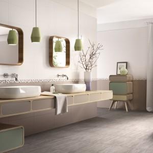 Płytki z kolekcji Reflex marki Imola Cermica w spokojnych, stonowanych odcieniach. Pięknie zaprezentują się w każdej łazience. Fot. Imola Ceramica.
