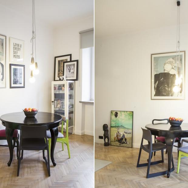 Mieszkanie w eklektycznym stylu w centrum Łodzi