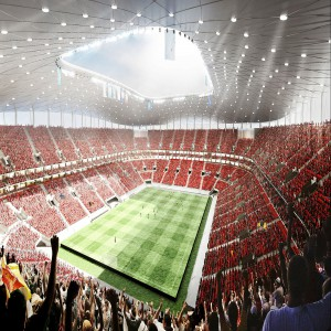 W Brukseli powstanie nowa arena sportowych zmagań