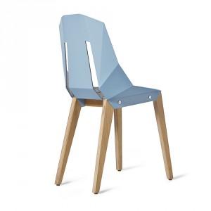 Krzesło Diago w żywym, błękitnym kolorze. Fot. Tabanda.