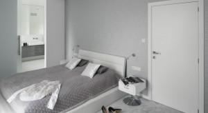 Sypialnia z łazienką to już standard. Zobaczcie, jak można urządzić tą ładną i praktyczną przestrzeń.