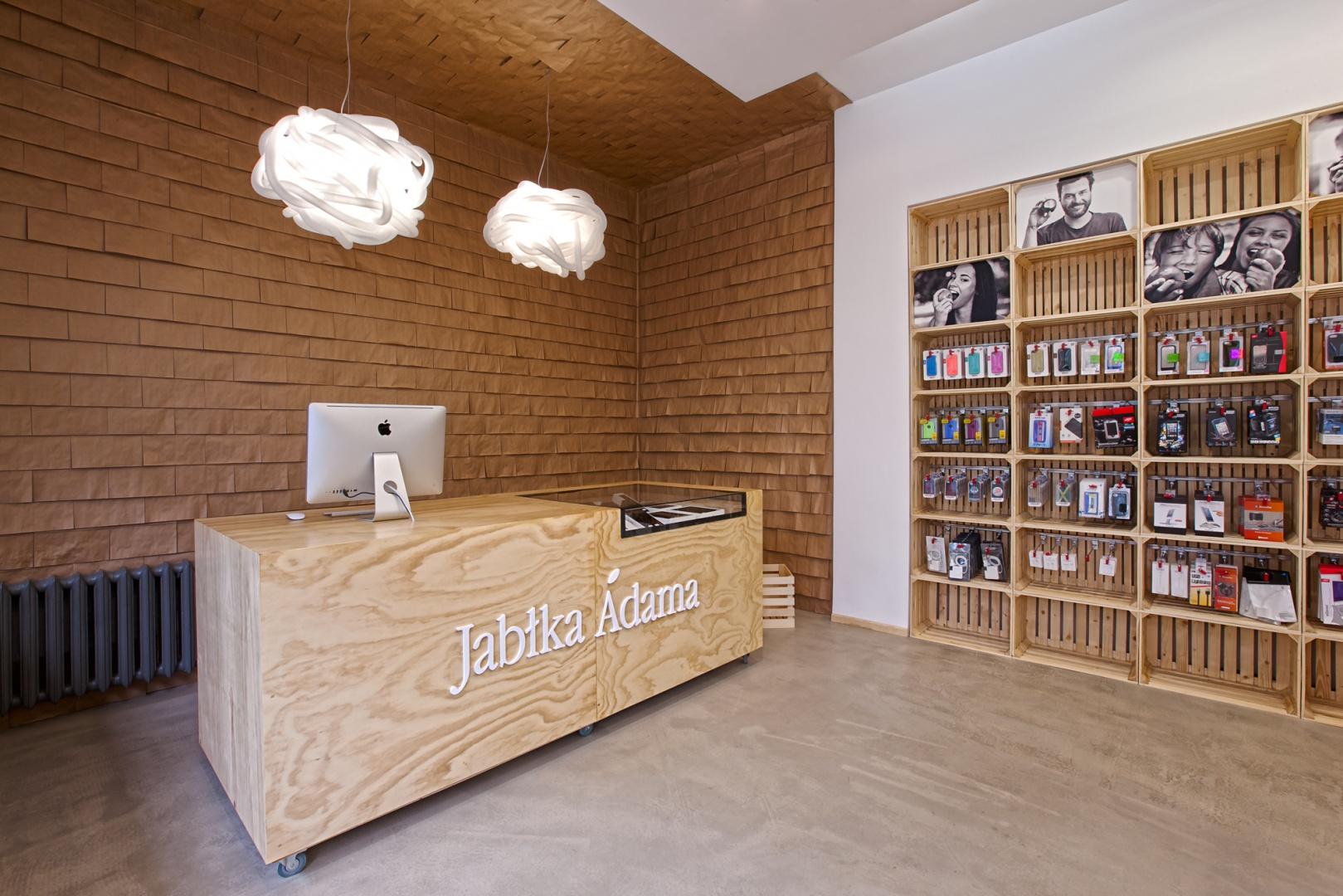 Projekt Jabłka Adama to pierwszy polski projekt nagrodzony w 8-letniej historii konkursu Euro Shop Retail Design Award. Fot. Marcin Ratajczak