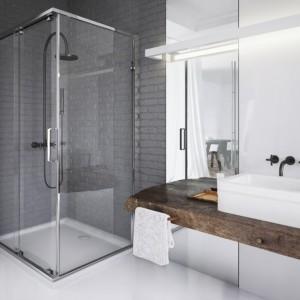 Kabina KOŁO ULTRA - higieniczna i bezpieczna. Ścianki pokryto łatwą w utrzymaniu czystości powłoką Reflex. Fot. Koło.