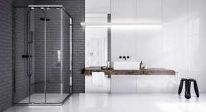 Najnowsza kabina prysznicowa z oferty marki KOŁO ukrywa przed wzrokiem swoje innowacyjne rozwiązania. Dzięki nim utrzymanie czystości w strefie prysznica będzie teraz ULTRA-proste.