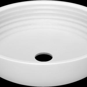 Okrągła umywalka Boomerang to model marki Vayer idealny do montażu w łazience w każdym stylu. Fot. Vayer.