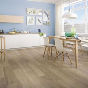 Płytki na podłogę w kuchni i jadalni: 15 modnych kolekcji