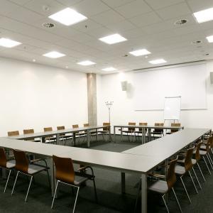 Na terenie stadionu znajdują się m.in. sale konferencyjne, restauracja (o powierzchni ponad 1.600 m2) oraz loże VIP także do codziennej dyspozycji najemców. Fot. Wojciech Figurski.