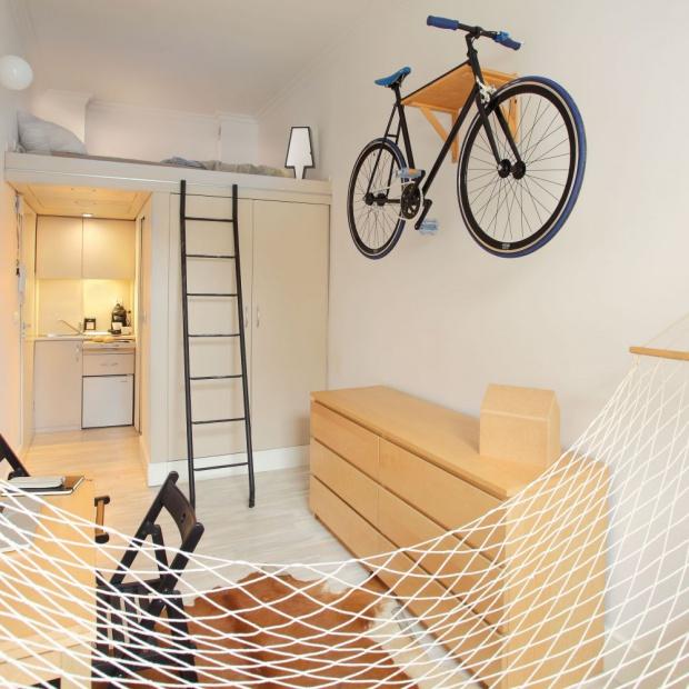 Bardzo małe, 13-metrowe mieszkanie