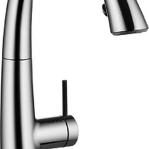 Bateria kuchenna posiada trwałą głowicę ceramiczną oraz perlator Neoperl Cascade z elastycznym sitkiem KWC JETCLEAN zaprojektowanym w taki sposób, by samo używanie baterii zapobiegało osadzaniu się drobinek wapnia, które mogą blokować przepływ wody. Fot. Franke.