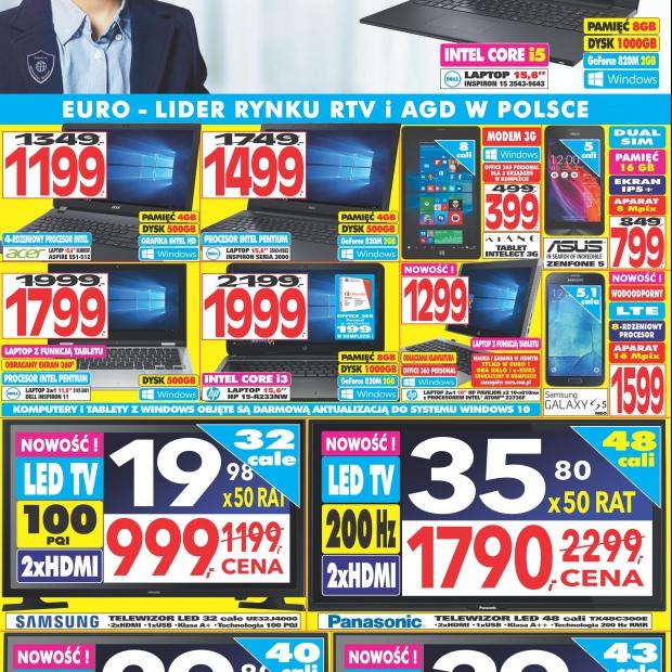 RTV EURO AGD: aktualna gazetka promocyjna