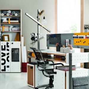 Kolekcja Smart firmy Meble Vox to meble dla przyszłych konstruktorów i wynalazców. Pobudzają kreatywność dziecka i pozwalają się zmieniać na różne sposoby. Fot. Vox.