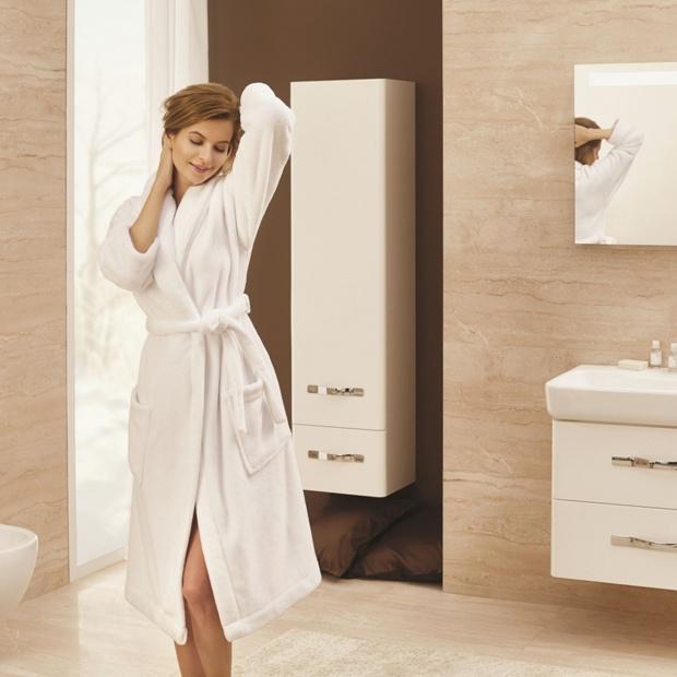Białe szafki do łazienki – 12 modnych kolekcji
