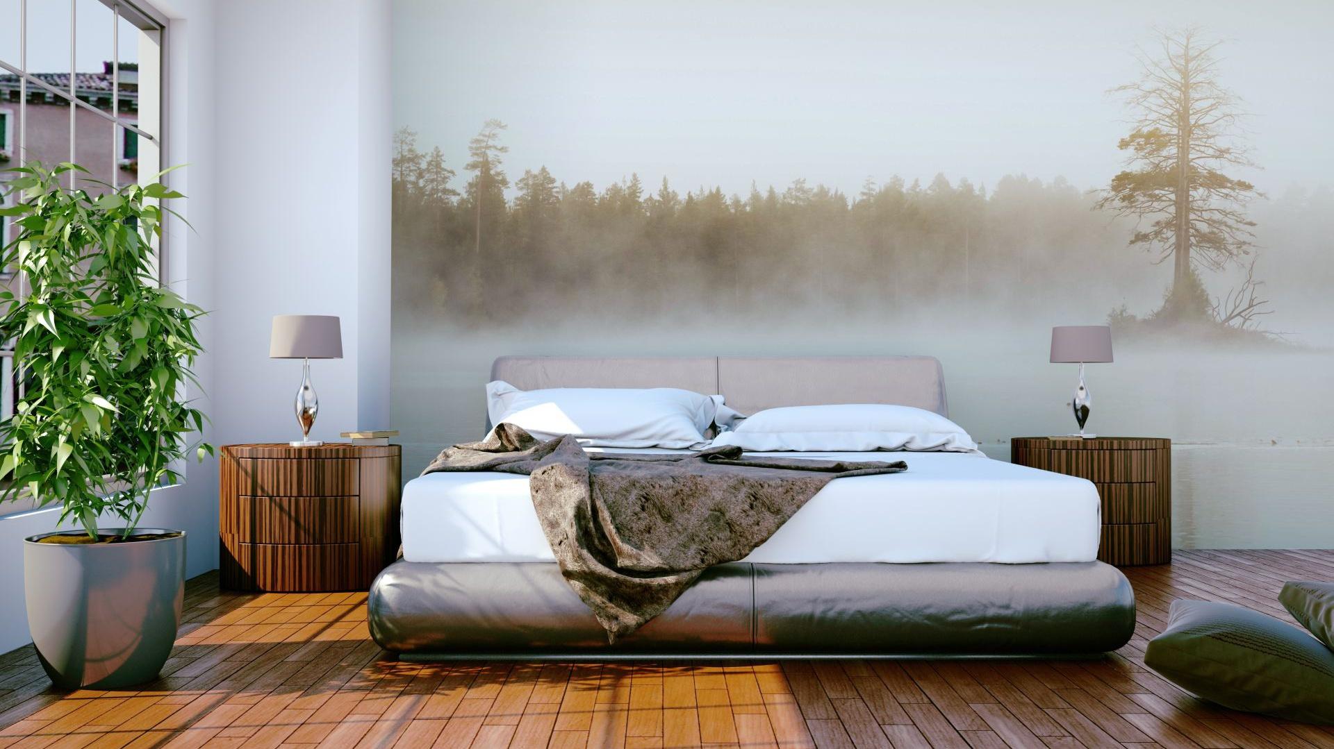 fototapeta z motywem pi kna sypialnia modne pomys y na cian za kiem strona 3. Black Bedroom Furniture Sets. Home Design Ideas
