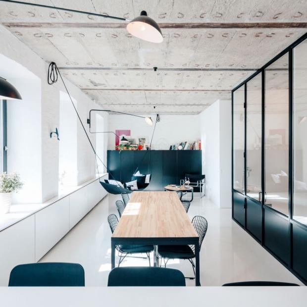 Wnętrze w stylu loft. Zobacz mieszkanie w Moskwie