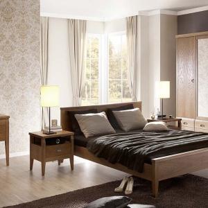 Sypialnia Diana ma ciepłe, przytulne barwy i modernistyczną stylistykę. Stworzy we wnętrzu niepowtarzalny klimat. Fot. Fameg.