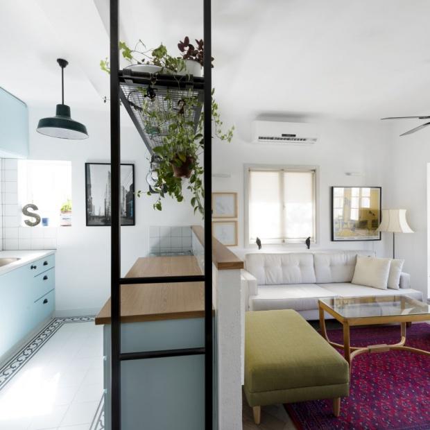 Małe, jasne mieszkanie. Tak wygląda po remoncie