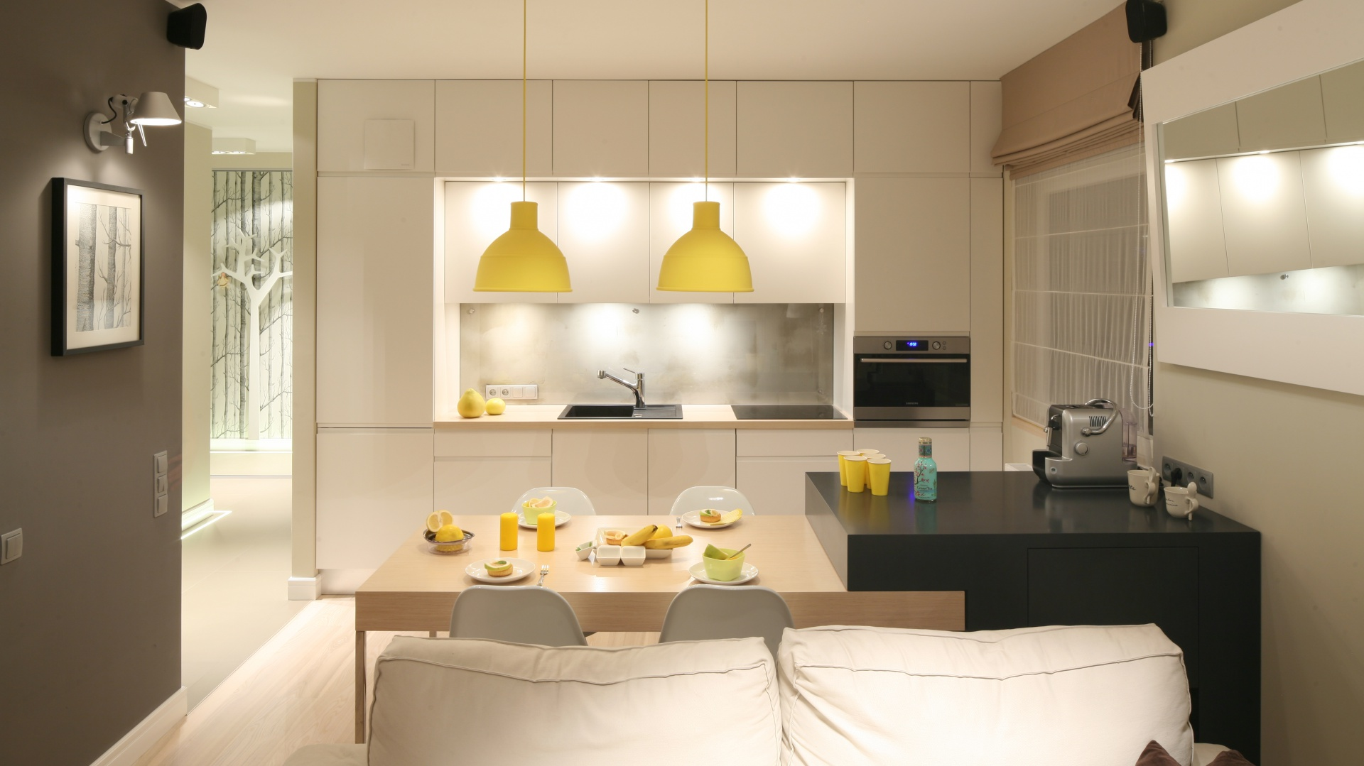 Kuchnia otwarta na salon to kuchnia otwarta na salon for Kuchnia z salonem aranzacje