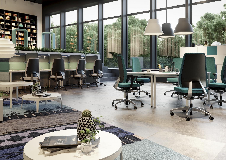 Firma Kinnarps jest obecnie jednym z największych w Europie dostawcą kompleksowego wyposażenia biur i miejsc pracy. Fot. Kinnarps.