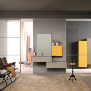 Połączenie odcieni kawy i koloru żółtego – kolekcja Soft firmy Azzurra. Fot. Azzurra.