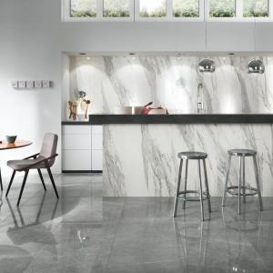 Kolekcja Imperial to piękne, eleganckie płytki ceramiczne, które imitują swoim wyglądem naturalny marmur. Fot. Ceramiche NovaBell.