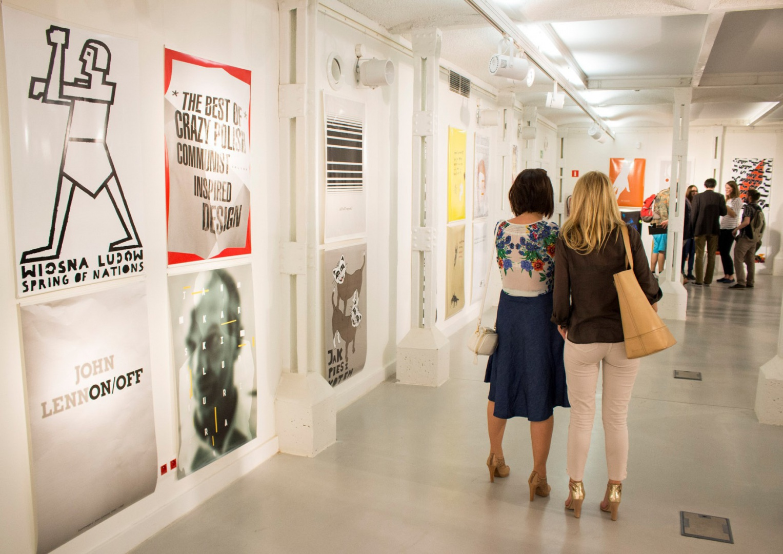 Wystawa Roller Poster podczas tegorocznej edycji Łódź Design Festival. Fot. ŁDF.