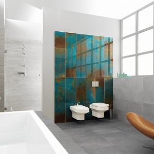 Uniwersalne inserta szklane Rust. Szkło w swojej prostocie i uniwersalności daje nieprzebrane możliwości aranżacji wnętrza. Fot. Ceramika Paradyż.