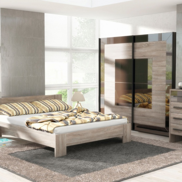 Modna sypialnia. Piękne kolekcje z jasnego drewna