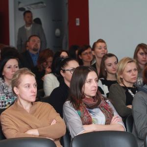 Spotkanie z cyklu Studio Dobrych Rozwiązań odbyło się w centrum konferencyjnym stadionu Cracovii w Krakowie.