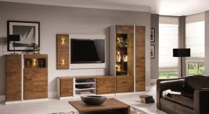 Siena to propozycja Fabryki Mebli Taranko na kompleksowe wyposażenie pomieszczeń salonów i jadalni.