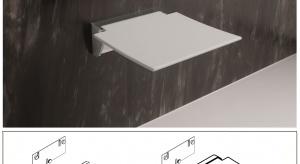Mobilne poręcze ścienne oraz ławeczki prysznicowe gwarantują optymalny komfort użytkowania.