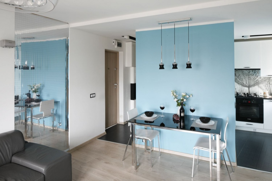 Salon od kuchni oddziela Małe mieszkanie jak oddzielić kuchnię od salon   -> Otwarta Kuchnia Male Mieszkanie