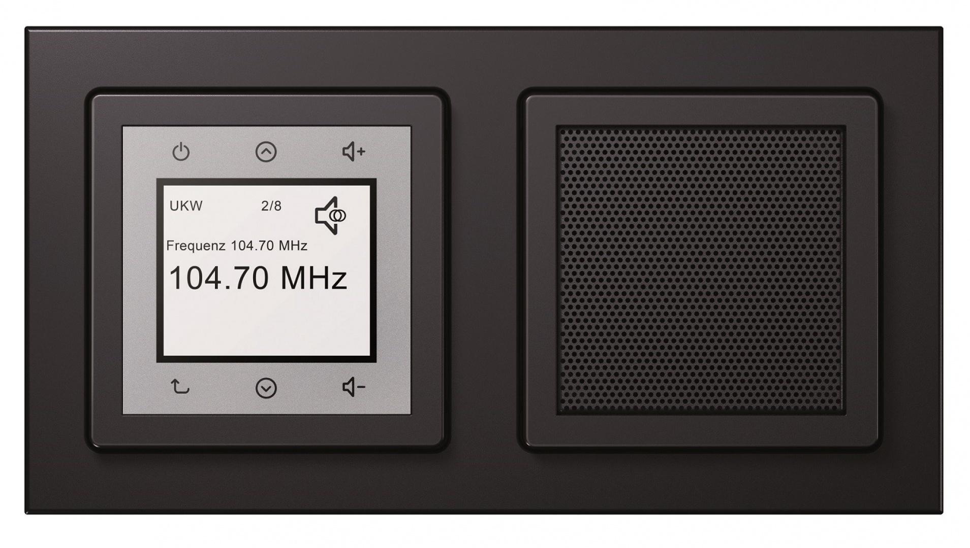 Berker Radio Touch seria Berker Q.3.
