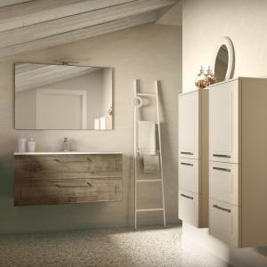 Marka Idea Group oferuje nową kolekcję mebli łazienkowych Dressy dostępną w modnym kolorze. Fot. Idea Group.