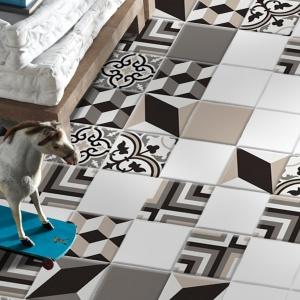 Z efektem 3D - płytki ceramiczne Masselo firmy Decocer. Fot. Decocer.