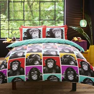 Humor w sypialni jest jak najbardziej wskazany. Pościel z wesołym motywem może być wyjątkowo ciekawym dodatkiem we wnętrzu. Fot. Housing Units.